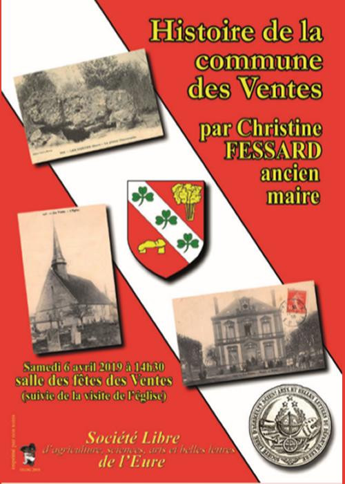 Histoire de la commune des Ventes par Christine Fessard