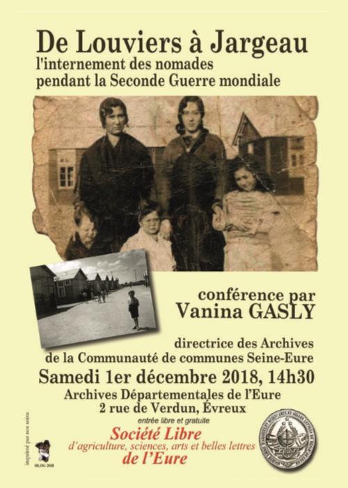 De Louviers à Jargeau : Parcours de nomades Eurois internés (1940-1945)